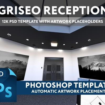 GRISEO RECEPTION- 12K PSD TEMPLATE (FREE)