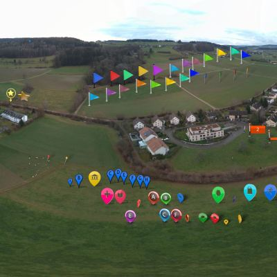 Drone gps markers