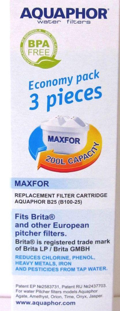 Aquaphor Maxfor Box B25 x 3