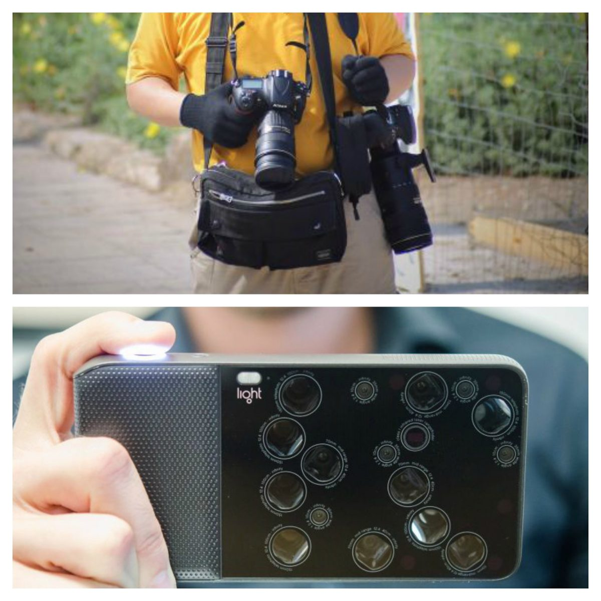 What is the multiple lens camera?