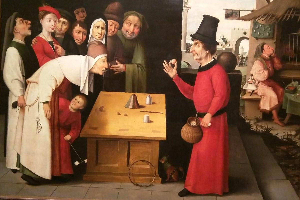 The Conjurer, School of Hieronymus Bosch