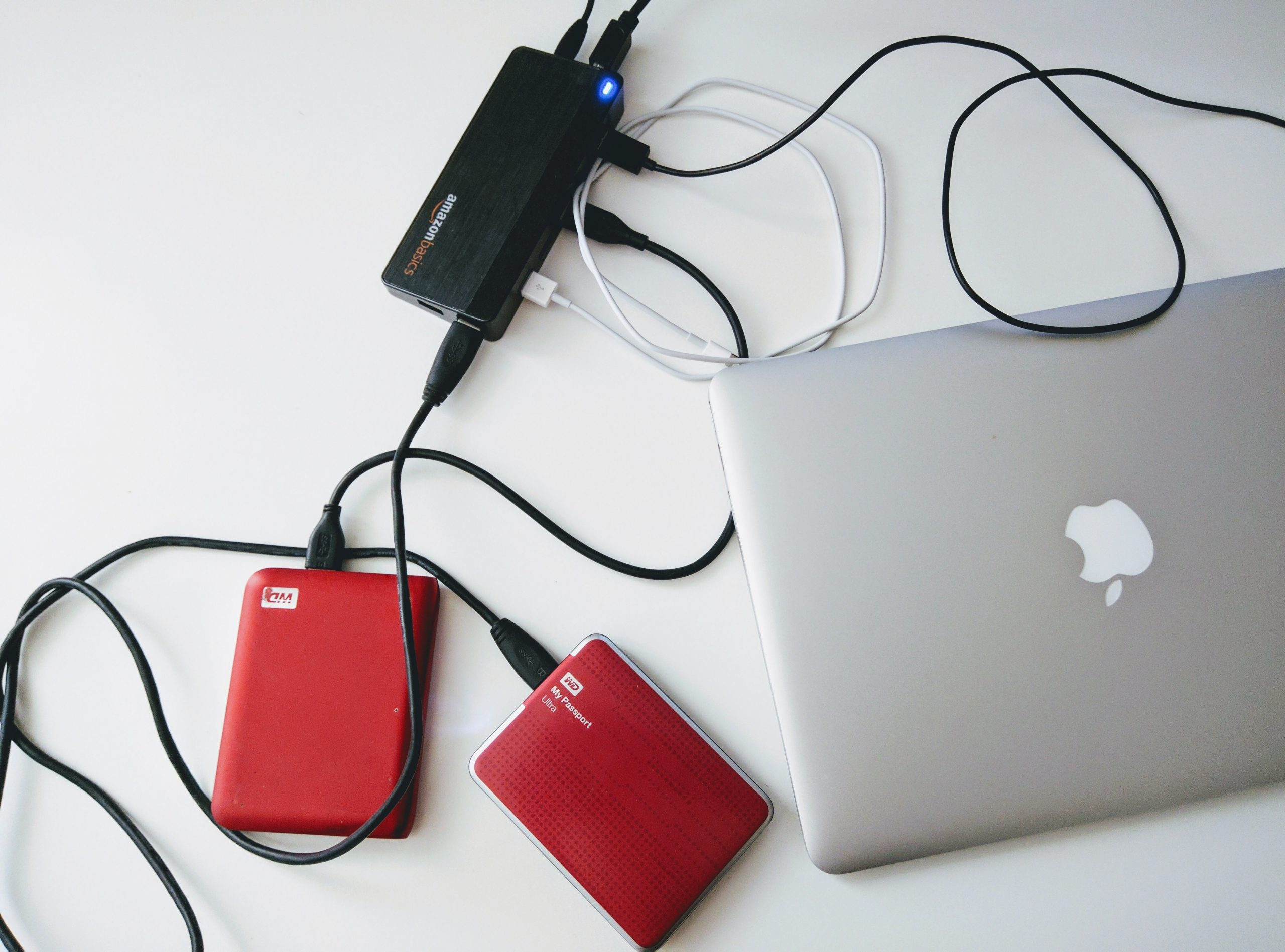 external hard drives with wifi/Bluetooth are still rare/clunky/expensive