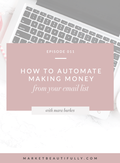 011 | How to Automate Making Money from your Email List