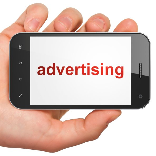 Advertising on smartphone