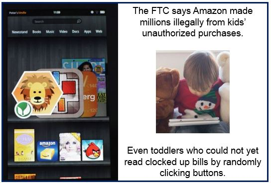 Federal regulators sue Amazon