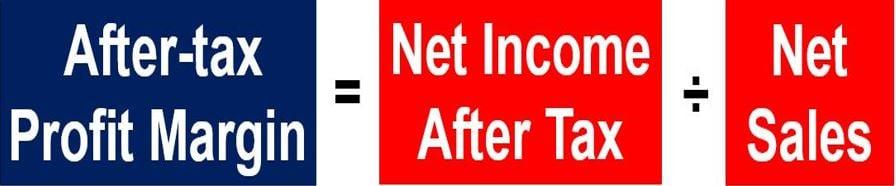 After-tax profit margin