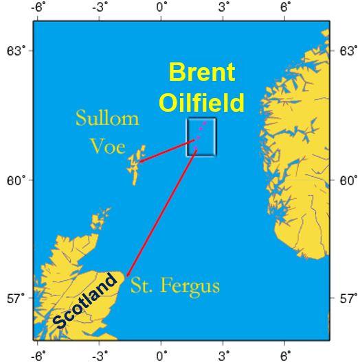 Brent Crude - Brent Oilfield