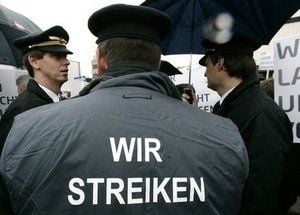 Lufthansa pilot strike