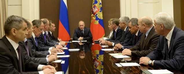 Putin and security council