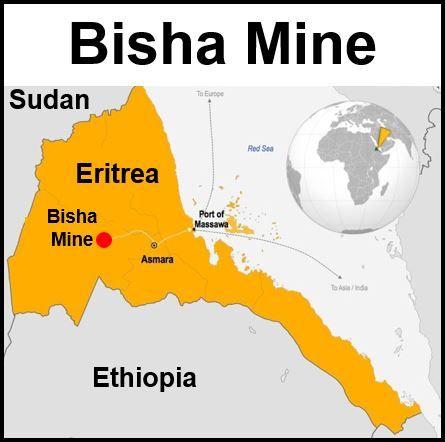 Bisha Mine Nevsun Resources