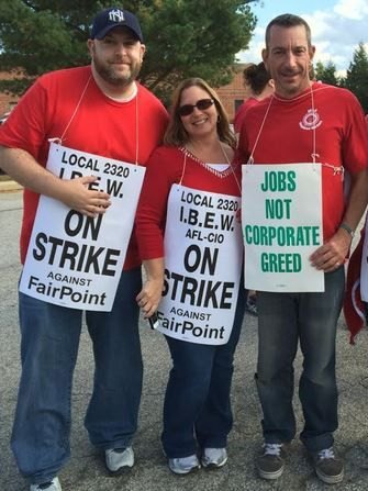 FairPoint strikers