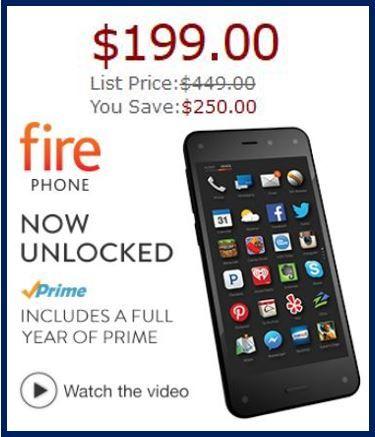 Fire Phone $199