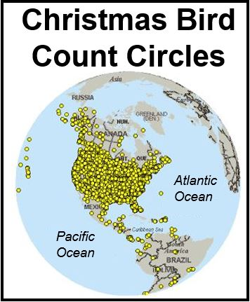 Christmas Bird Count Circles