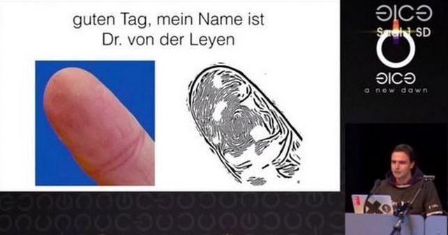 Kissler explaining fingerprint cloning
