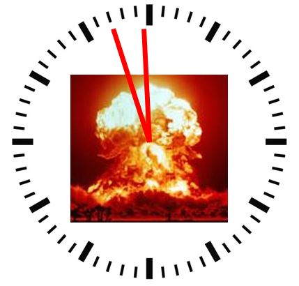 Doomsday Clock moved