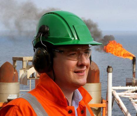 George Osborne North Sea Oil