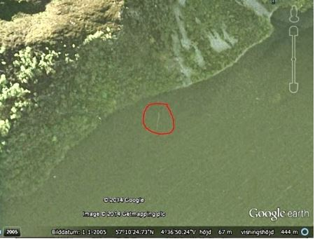 Google Earth Loch Ness Picture