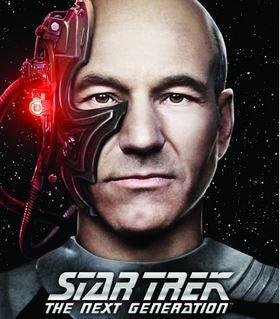 Jean Luc Picard Borg