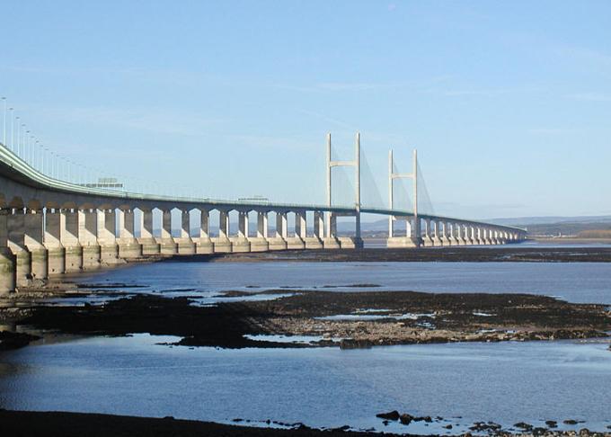 Severn bridge built by John Laing
