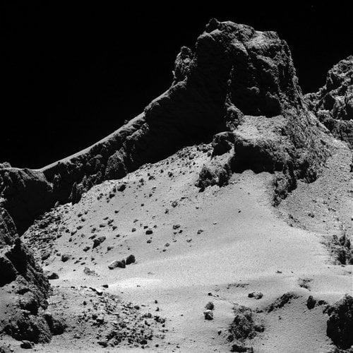 Rosetta photo of comet P67