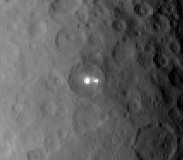 bright objects on Ceres