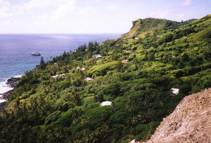 Capital of Pitcairn Adamstown