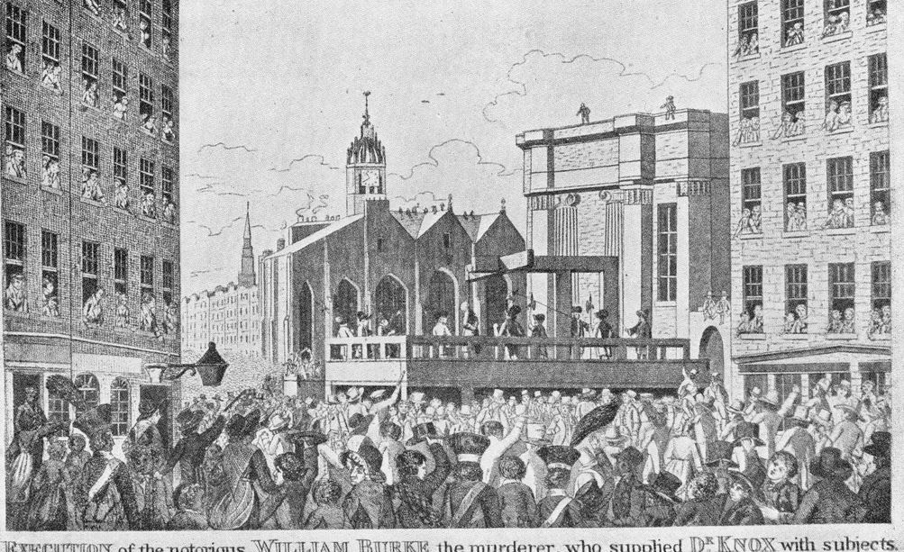 Execution of William Burke