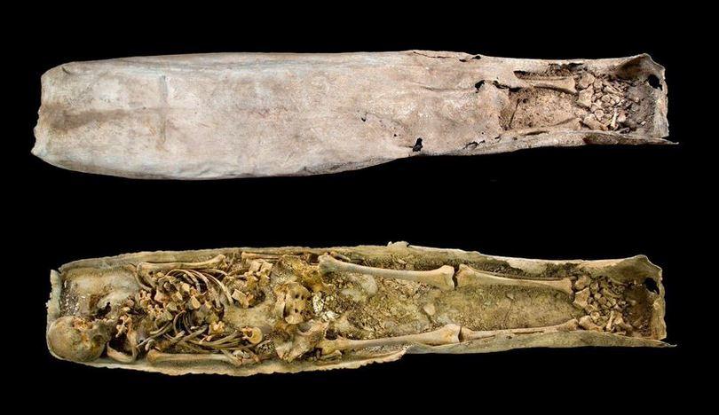 Medieval coffin 1