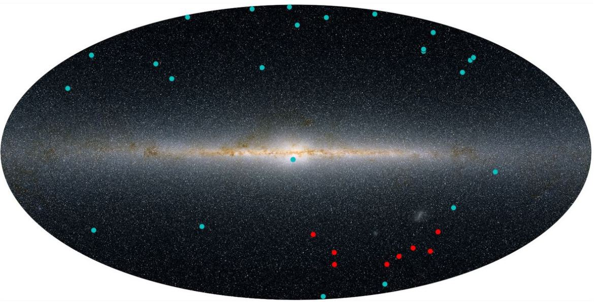 Newly discovered dwarf galaxies