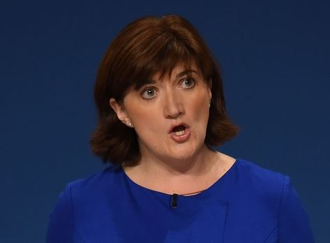 Nicky Morgan Education Secretary