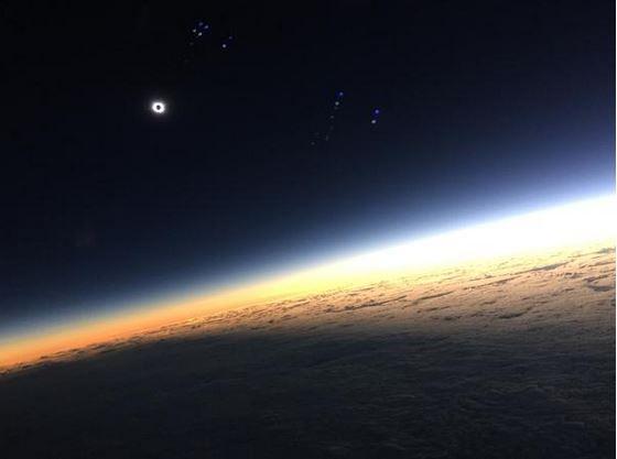 easyjet flightdeck solar eclipse