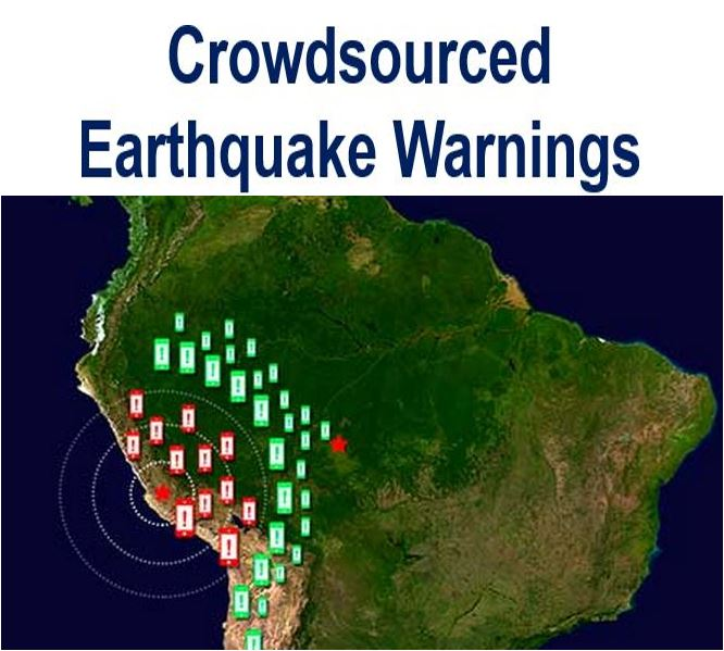 crowdsourced earthquake warning