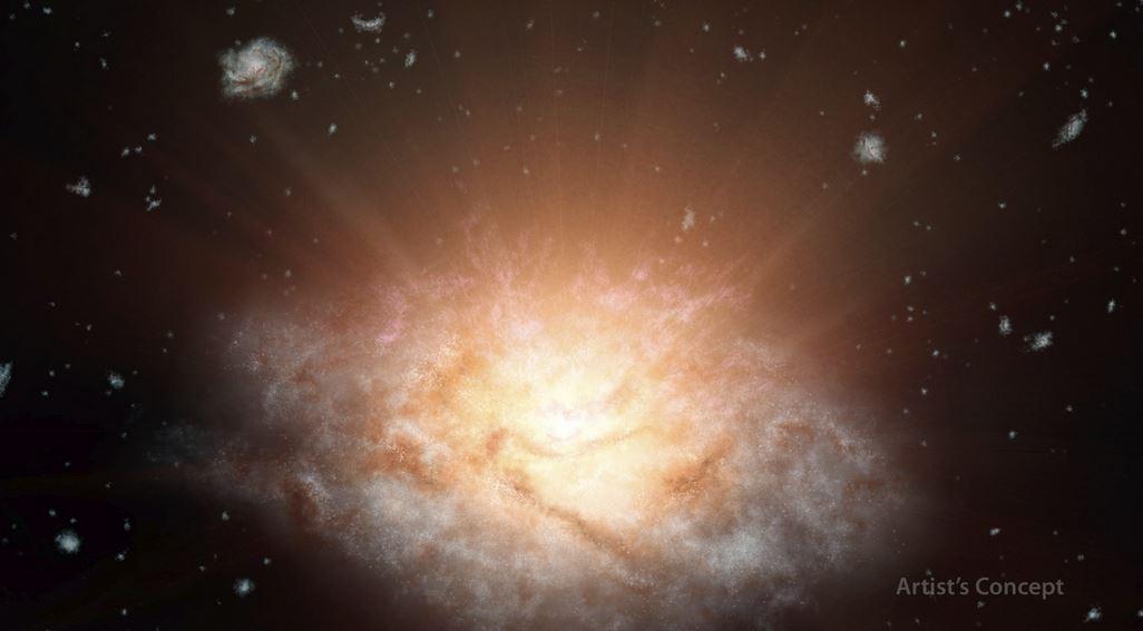Brightest galaxy