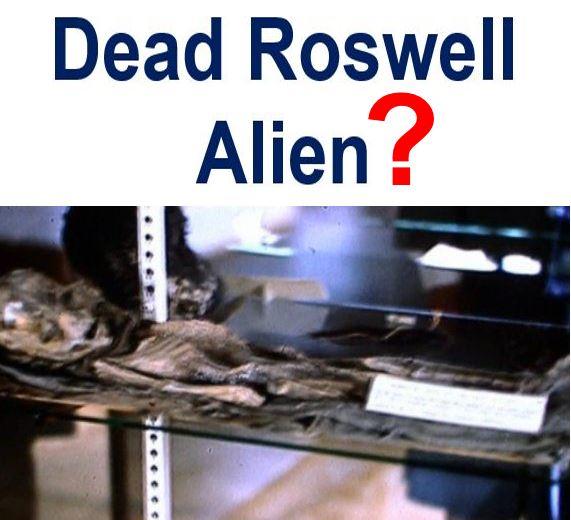 Dead Roswell Alien