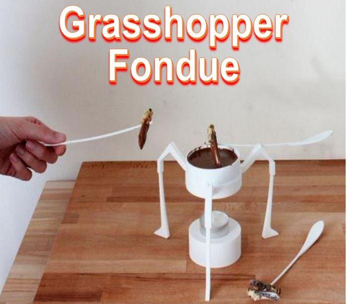 Gasshopper Fondue