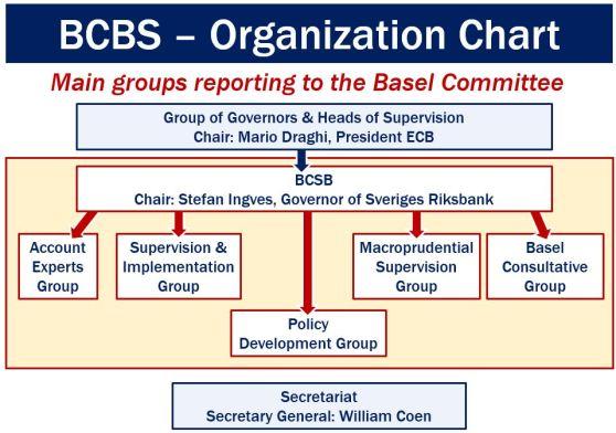 BCBS Organization Chart