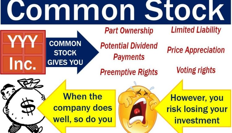 Common stock – features plus pros and cons