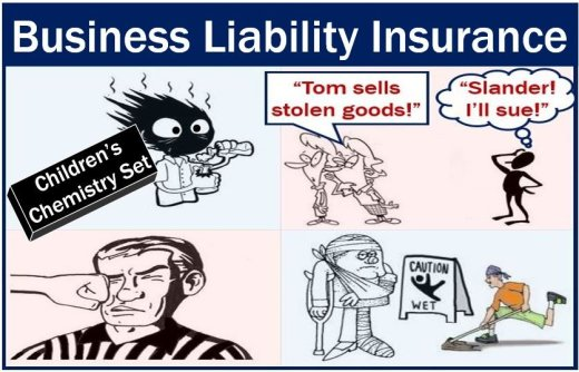 Business liability insurance - different situations
