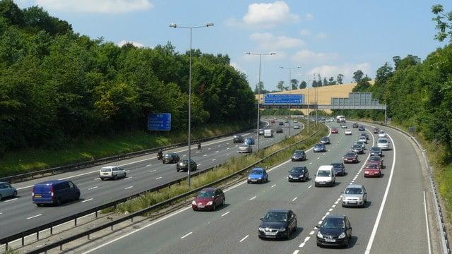 M25 Motorway, Near Merstham