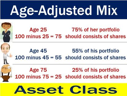 Age-Adjusted Mix - asset class