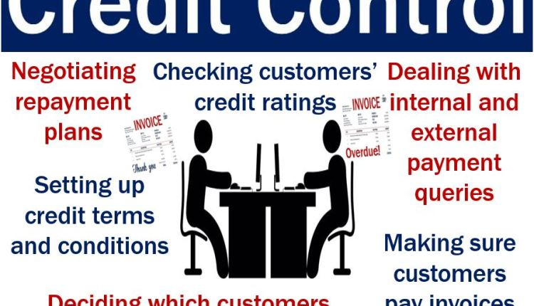 Credit Control – image explaining what it is