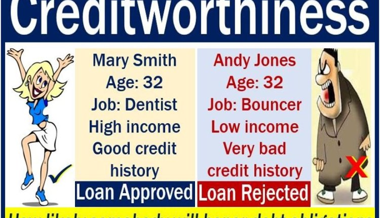 creditworthiness - example and definition