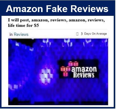 Fake reviews