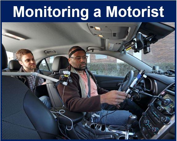 Monitoring a motorist