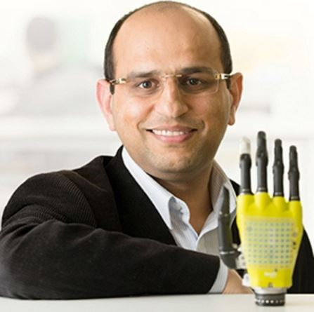 Ravinder Dahiya graphene possibilities