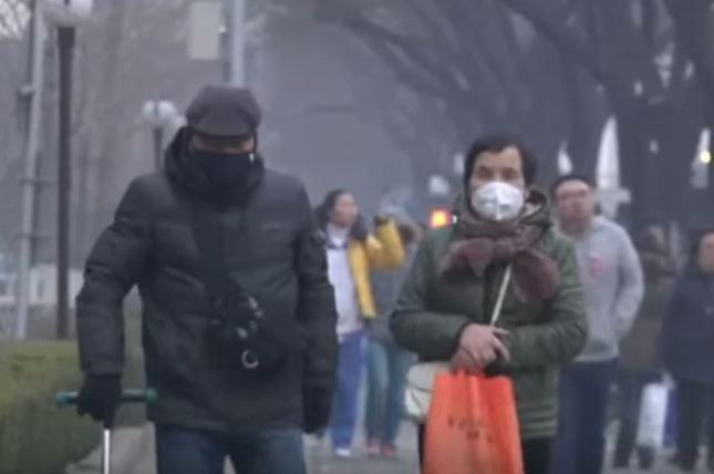 Beijing issues first ever red smog alert