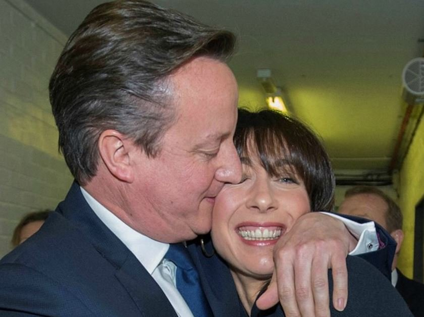 David Cameron happy with election victory