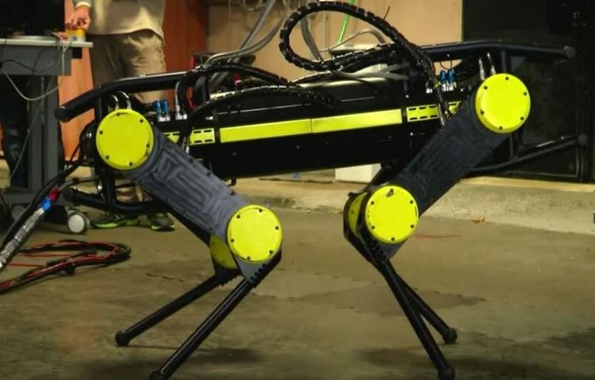 Four legged robot HyQ2Max