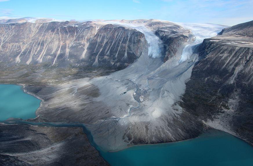 Glaciers in Greenland
