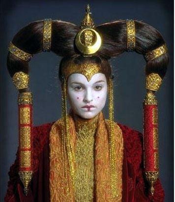Queen Amidala of Star Wars
